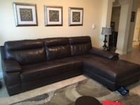 Leather section couch  Lutz, 33549