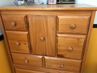 Dresser in good condition. Normal wear (visible in pics) asking $80 OBO Mojave, 93501