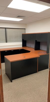 brown and black wooden desk 13 km