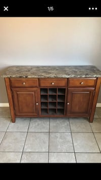 Real granite top kitchen cabinet Carlsbad, 92008