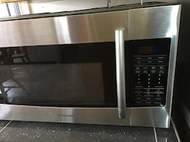 Samsung over the range microwave oven