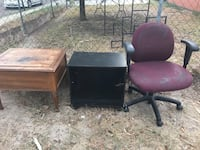 two brown wooden side tables Laredo, 78041