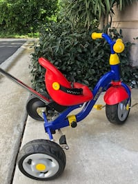 toddler's blue and red trike San Diego, 92130
