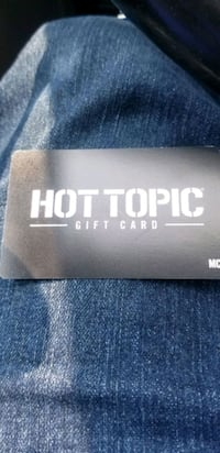 Hot topic gift card  Clearfield, 84015
