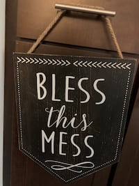 Bless this mess sign Germantown, 20874