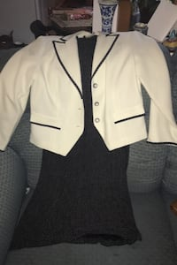 Black with White polkadots dress and jacket Germantown, 20876