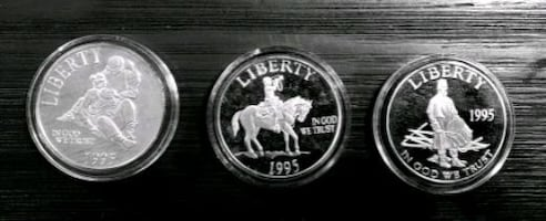 X3 Commemorative Vintage Silver ounces .999