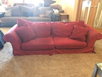 Used Red Couch Dresden, 43821