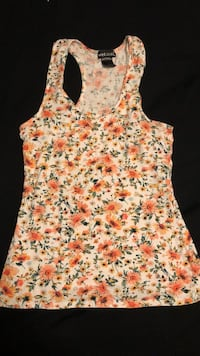 beige and orange floral tank top Gulf Shores, 36542