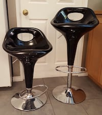 Pair of black stools Toronto, M5C 2W2