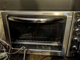Kitchen Aid toaster oven rarely used