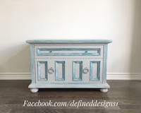 Beautiful Solid Chest Of Drawers  Barrie