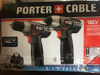 Porter cable impact power drill boxes