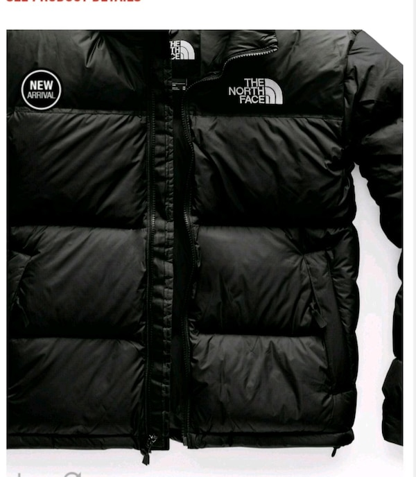 ca07fedf4 black The North Face bubble jacket