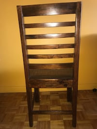 4 Solid Wood Dining Chairs Toronto, M5E 1Y7