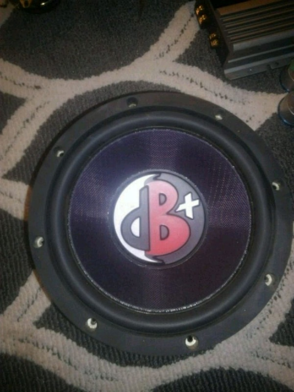 Kenwood excelon db+ 10inch subwoofer