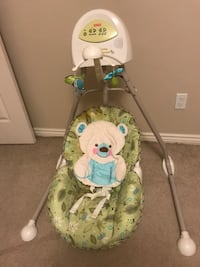 Baby swing chair fisher price St Albert