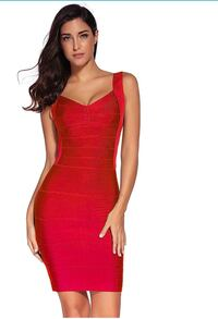 Red dress Los Angeles, 90002