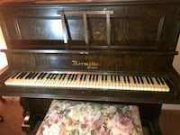 brown and white upright piano Fresno, 77545