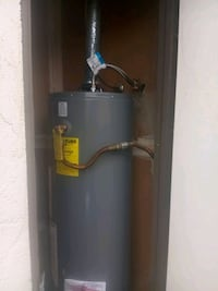 Water heater installed. Las Vegas