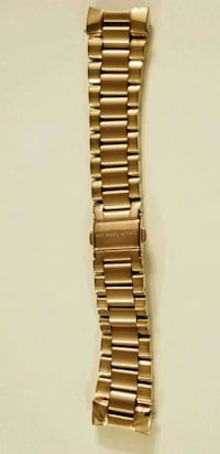 brown leather strap silver link bracelet Cary, 27513