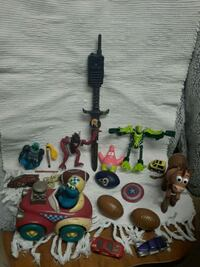Vintage cookie monster toy & other toys