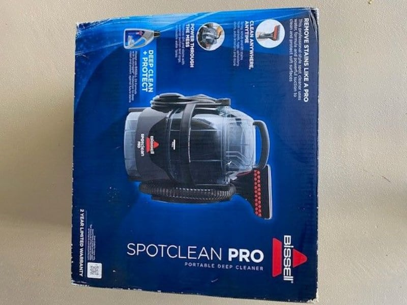 Bissell SpotClean Pro Portable Upholstery and Carpet Cleaner 473629be-22fc-4aeb-b570-b762983d2b86