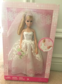 Barbie wedding doll ring lights up  Toronto, M1B 1G5