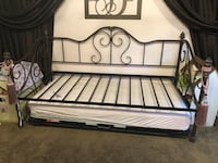 Wrought iron bed Midland
