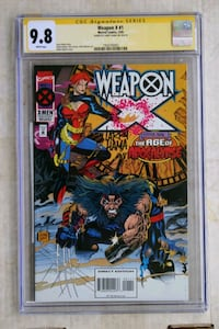 Weapon X #1 (Signature Series CGC 9.8) NM/MT  Bowie, 20721