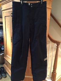 Youth unisex Burton snowboard ski pant Size 18/20 XL Like new warm