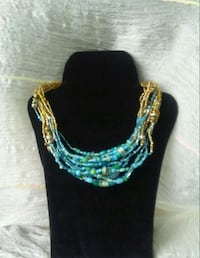 Gold and turquoise necklace Chilliwack, V2R 4A2