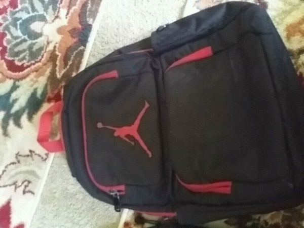 d6b6e9eef644cb Used black and red Air Jordan backpack for sale in Modesto - letgo