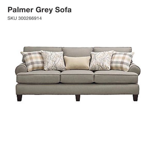 Fantastic Gray Couch Art Van Furniture Bralicious Painted Fabric Chair Ideas Braliciousco