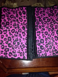 Purple and black animal print waist trainer Calgary, T2A 4M7