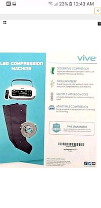 Leg compression machine and leg covers Georgetown, 40324