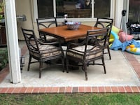 Garden Solid wood table&4 chair Irvine, 92620