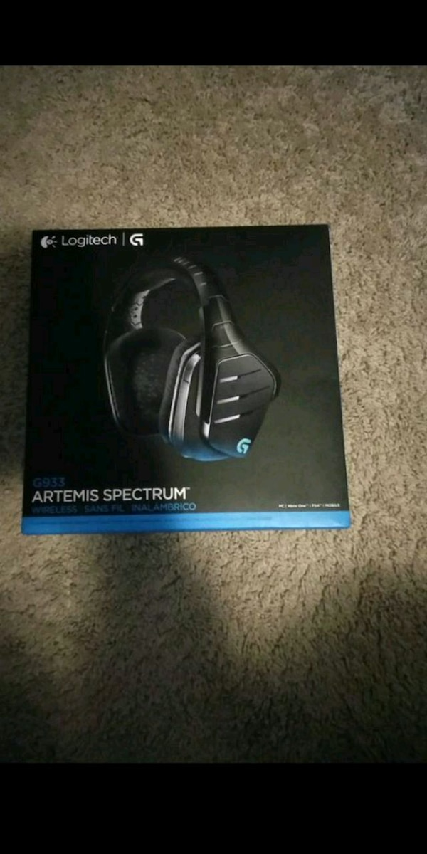 Logitech G933 wireless headset
