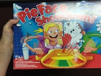 Brand new pie face showdown games. New giftable $10 each several avail Hamilton, L8M 2B5