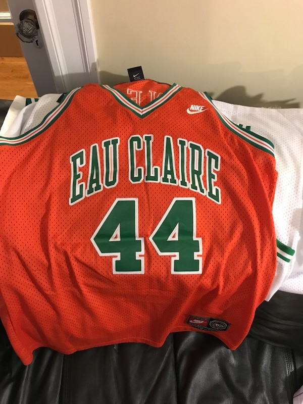 wholesale dealer 24df8 1e99d EAU CLAIRE SHAQ ONEIL authentic double stitched letters and numbers jersey  yours for 100.00