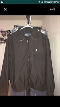Ralph Lauren zip-up collar jacket