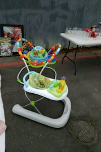 baby's white and green Fisher-Price jumperoo Watsonville, 95076