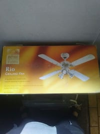 Brand new Rio Ceiling Fan  Edmonton, T6A 0J9