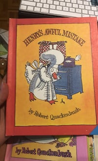 Henry's awful mistake - hard cover - vintage 80's kids books Mississauga