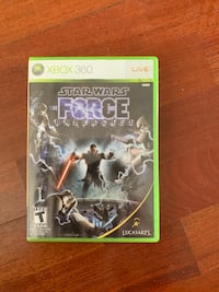 Star Wars the Force unleashed for Xbox 360 Toms River, 08755