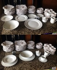 New! Dinnerware china set.
