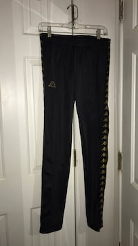 black and white Adidas pants Mc Lean, 22101