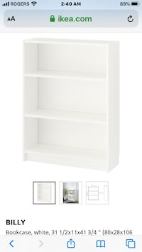 Shelving book case Mississauga, L4X 2S1
