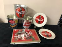 Coca Cola collectibles different items selling all together . Toronto, M9W 2W2