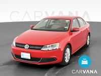 2013 VW Volkswagen Jetta sedan 2.5L SE Sedan 4D Red  Gaithersburg